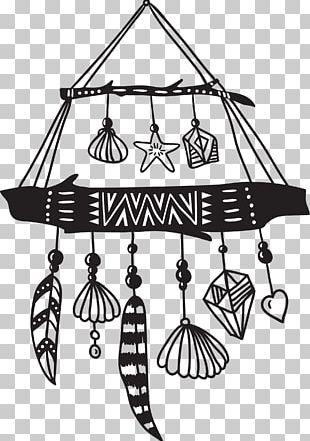 Dreamcatcher Ethnic Group Ornament Illustration PNG