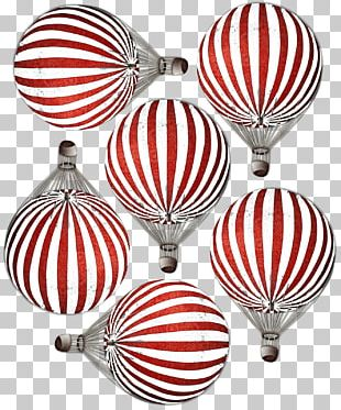 Hot Air Balloon Airplane Christmas Ornament Flight PNG
