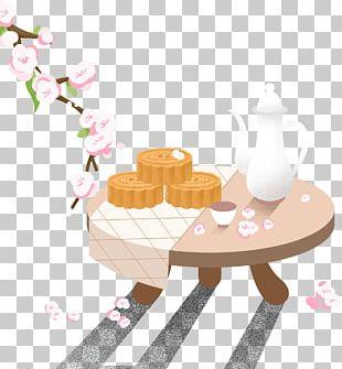 Mooncake Mid-Autumn Festival Cartoon U0e01u0e32u0e23u0e4cu0e15u0e39u0e19u0e0du0e35u0e48u0e1bu0e38u0e48u0e19 PNG