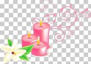 Candle Home Page PNG