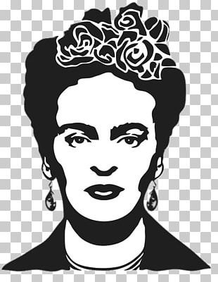 Diego Rivera Frida Kahlo: Mexican Painter Stencil PNG