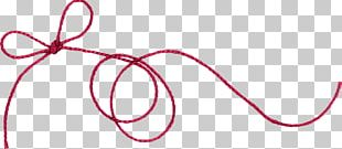 Twine String Red Thread Of Fate PNG