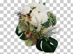 Flower Bouquet Hydrangea Cut Flowers Floral Design Artificial Flower PNG