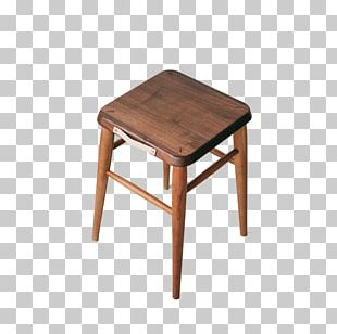 Stool Table Wood Furniture PNG