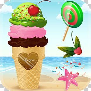 Ice Cream Sundae Slush Frozen Yogurt PNG