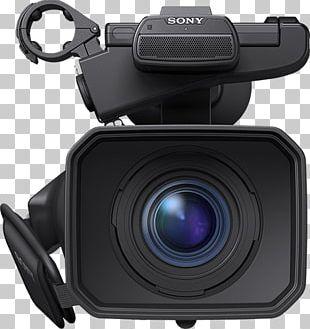 Samsung NX100 Sony NXCAM HXR-NX100 Video Cameras Exmor R Zoom Lens PNG