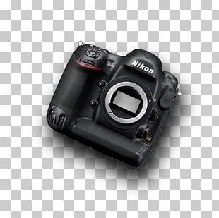 Camera Lens Nikon D4S Canon EOS-1D C Digital SLR PNG