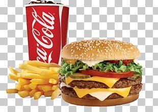 Hamburger French Fries Cheeseburger Chicken Sandwich Veggie Burger PNG