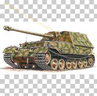 Elefant Tank Destroyer Plastic Model Zvezda PNG