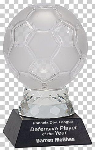 Trophy Football Award Crystal PNG