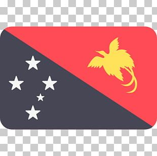 Flag Of Papua New Guinea Port Moresby Flags Of The World PNG