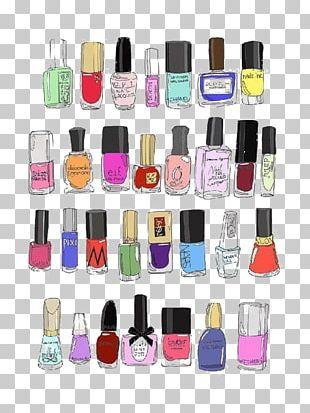 Nail Polish Drawing Cosmetics Illustration PNG