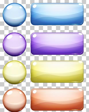 Button Crystal PNG