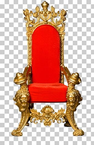 Throne King Chair PNG