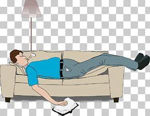 Sleep Cartoon Man PNG
