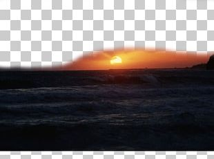The Sun On The Sea PNG