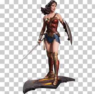 Batman Diana Prince Superman YouTube Statue PNG