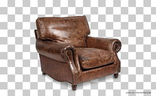 Eames Lounge Chair Couch Leather Wing Chair PNG