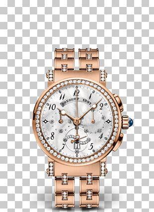 Breguet Watch Clock Chronograph Rue Bréguet PNG