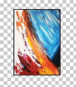 Modern Art Oil Painting Abstract Art PNG