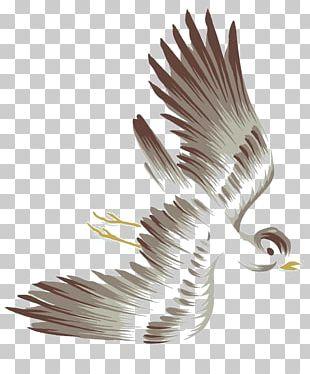 Bird Flight Watercolor Painting PNG