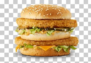 McDonald's Big Mac Chicken Sandwich Hamburger McChicken Chicken Patty PNG