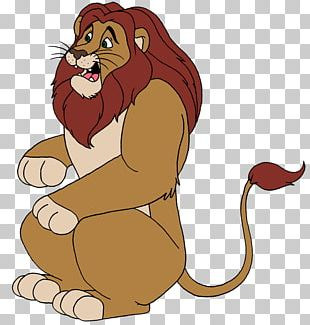 Lion Cartoon The Storm King PNG