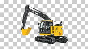 John Deere Caterpillar Inc. Compact Excavator Heavy Machinery PNG