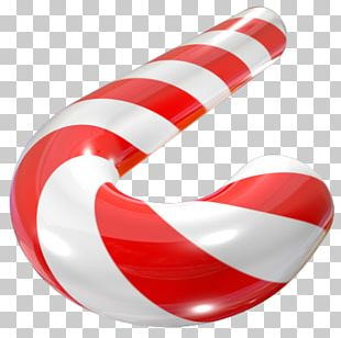 Candy Cane Polkagris Christmas Red PNG