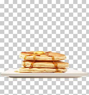 Pancake Breakfast Fast Food Hamburger Bacon PNG