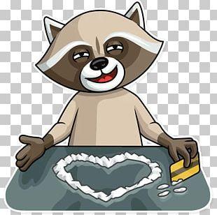 Raccoon Dog Telegram Sticker Crime PNG