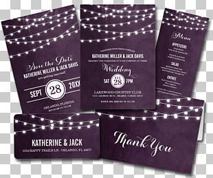 Wedding Invitation Light Save The Date RSVP PNG