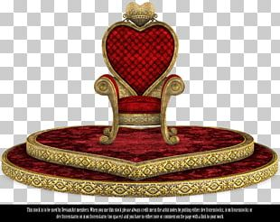 Chair Throne Queen Of Hearts Queen Regnant Furniture PNG