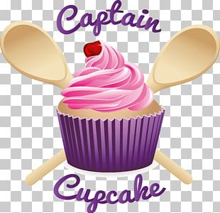 Cupcake Cream Frosting & Icing Birthday Cake PNG