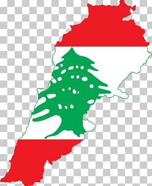 Flag Of Lebanon Map National Flag PNG
