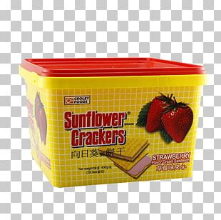 Common Sunflower Biscuit Graham Cracker Strawberry PNG