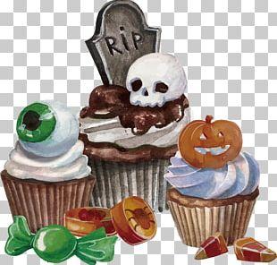 Halloween Dessert Euclidean PNG