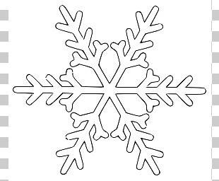 Snowflake White Cloud PNG