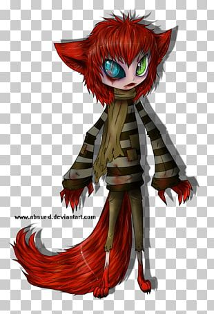Demon Costume Design Illustration Anime PNG