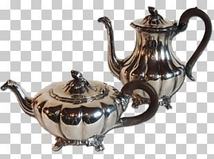 Kettle Teapot 01504 Tennessee Silver PNG