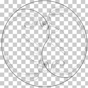 Line Art Drawing Black And White PNG
