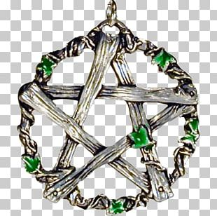 Pentagram Pentacle Yahshuah Necklace Wicca PNG