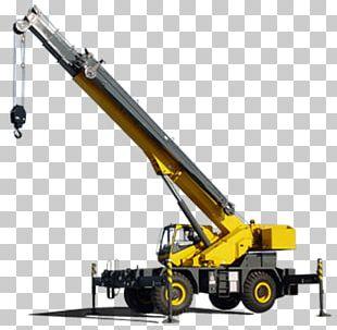 Telescopic Crane PNG