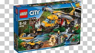 Lego City Toy Helicopter Lego Minifigure PNG