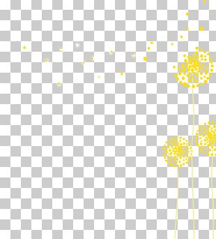 Line Point Angle Yellow Pattern PNG