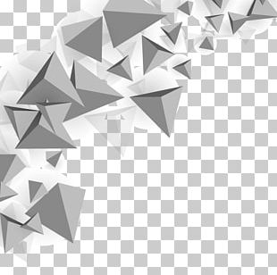 Triangle Polygon Mesh PNG