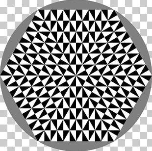 Hexagon Geometry Logo PNG