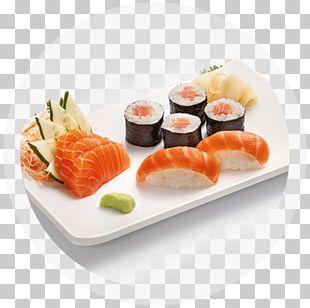 California Roll Sashimi Smoked Salmon Sushi Onigiri PNG