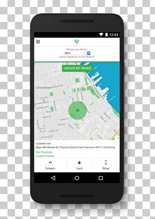 Android Lookout Find My Phone Antivirus Software Mobile Phones PNG