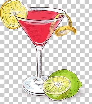 Cosmopolitan Cocktail Margarita Martini Vodka PNG